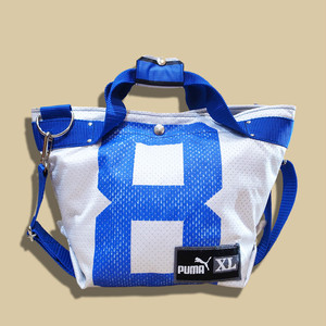 "WCH Remake NFL Game shirts Tote Bag (S) -""8""/ White"