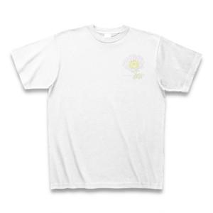 磯寒菊 フラワーイラストTシャツ ワンポイント