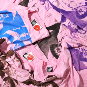 New★ DUBING!! 4 JSG 90's SCREEN STARS BEST XXL Tee(LIGHT PINK)