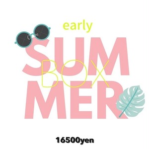 SUMMER BOX 16500円