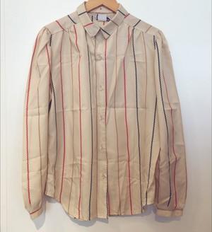 Vintage Zigzag Stripe Shirt