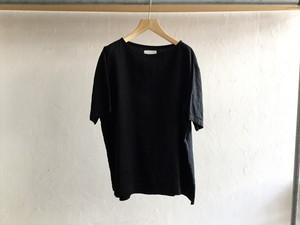 "Men's AUGUSTE-PRESENTATION Pajama Look""半袖プルオーバーBlack"""