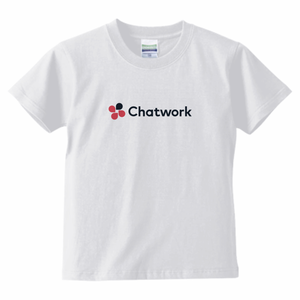 Chatwork LOGO Tシャツ White(キッズ)