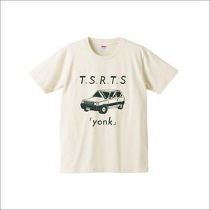"Tシャツ ""yonk"" / ナチュラルXS"