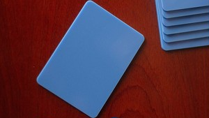 Pure Cardistry (Blue) Training Playing Cards (7 Packets)