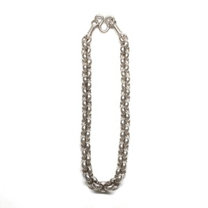 Vintage Mexican Circular Chain Link Necklace