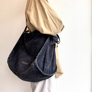 RESIDENT BAG - BLACK DENIM