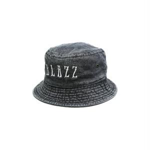 EURO BLAZZ DENIM BUCKET HAT [BLACK]
