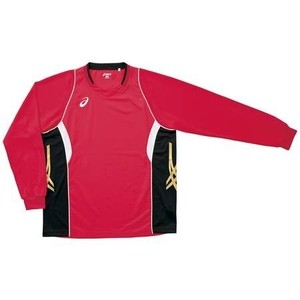 アシックス バレーボールウェア 長袖 ゲームシャツ XW1315 2490