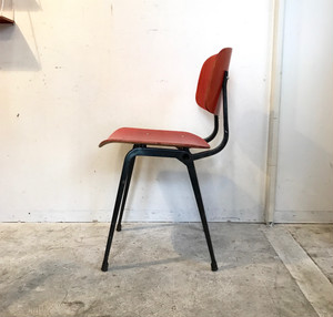 """Friso Kramer"" Revolt Chair Plywood Sheet ""Ahrend de cirkel"" 1960's オランダ"