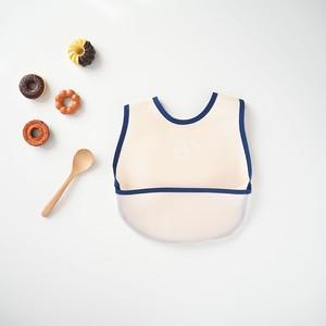 ひよこ/洗濯できる立体ポケットのお食事エプロン