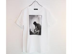 ボーイ・ジョージTシャツ〈FUNDOM×HERBIE YAMAGUCHI〉(白)