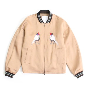 Enharmonic TAVERN Japan Bird SKA blouson -Camel