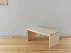 木曾ヒノキ サイドテーブル