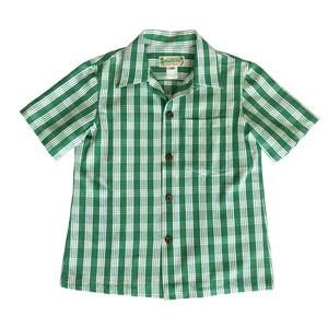 レディース&ボーイズ / オリジナル パラカシャツ / UHグリーン