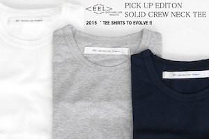 EEL PRODUCTS (イール / イールプロダクツ)【クルーネック無地Tシャツ(バラ売り)】