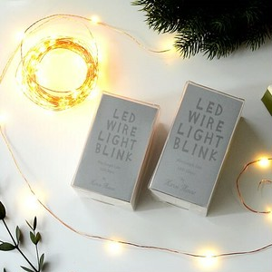 LED WIRE LIGHT BLINK 100pcs 10m