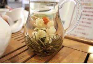 【中国茶・工芸茶】オリジナル高級品 新芽工芸茶  ダンディンホン 5粒