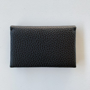 【Aeta】PEBBLE GRAIN COLLECTION /MINI WALLET / BLACK / PG14