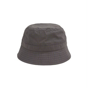 WHIMSY / PLAID CORDURA NYLON HAT -NAVY-