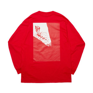 WHIMSY - GEZAN TOZAN L/S TEE (Red)