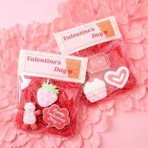 バレンタイン限定アイシングクッキー3枚セット×2