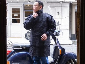 ROYAL AIR FORCE/JACKET WET WEATHER/DEADSTOCK