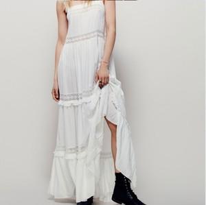 Topanga Fashion ティアードレースドレス ホワイト