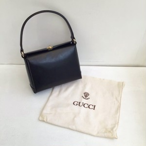 OLD GUCCI  leather oneshoulder bag