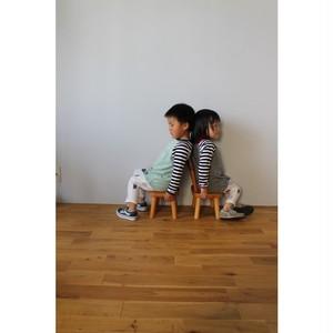 Simva Kids 514-0004 W pocket 2Tone Crew L/S