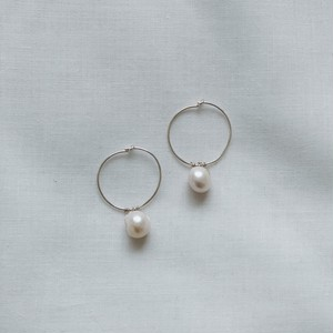 silver925 Pearl pierce