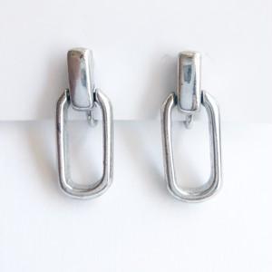 rectangle dangle earring[e-1109]