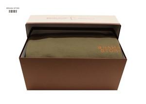BRAMA STORI-RIN-クルーネックスウェットシャツ(カーキー/メンズ)