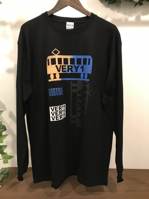 VERYONE デザイン LONG-sleeve shirt