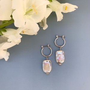【再入荷】Baroque pearl silver pierce / earring