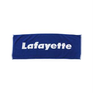 "Lafayette(ラファイエット)""Lafayette ラファイエット LOGO JACQUARD TOWEL""[BLUE]"