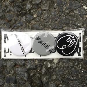 Maison book girl badge set _mbg015
