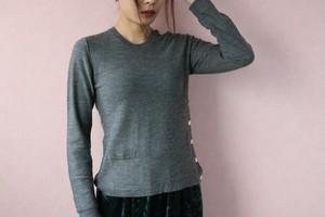Sonia Rykiel gray tops