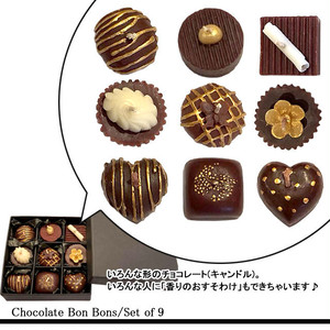 Chocolate BonBons/Set of 9