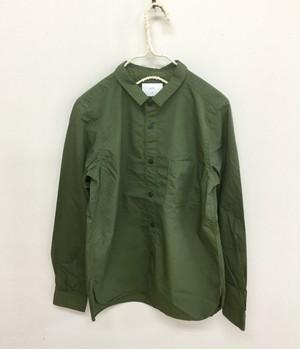 20%OFF【prit】70/1ピマ高密度ツイルレギュラーカラーシャツ/81855