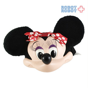 ミニーマウス ファンキャップ 3D帽子