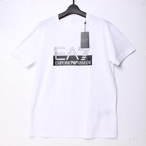 ENPORIO ARMANI エンポリオアルマーニ EA7 Tシャツ ホワイト S[全国送料無料]r017365