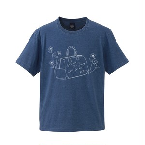 【WEAR】旅のお供Tシャツ (半袖/Denim-color)