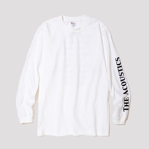 """THE ACOUSTICS"" Long Sleeve T-Shirts [white]"