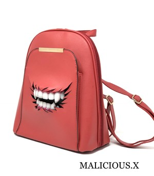 vampire backpack / red