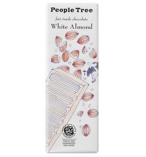 PeopleTree(ピープルツリー)チョコレートホワイトアーモンド 50g