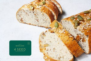 【定期便ケト4シード×2】 KETO LOAF 4seed×2(Monthly Subscription Box)