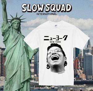 SLOW SQUAD Ando donate NYC Tshirt