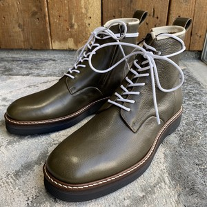 EARLE / Hi chukka lace-up / Khaki