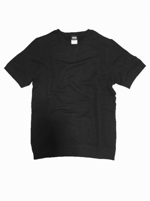 【viver day off】フレンチクルーネックシャツ ブラック